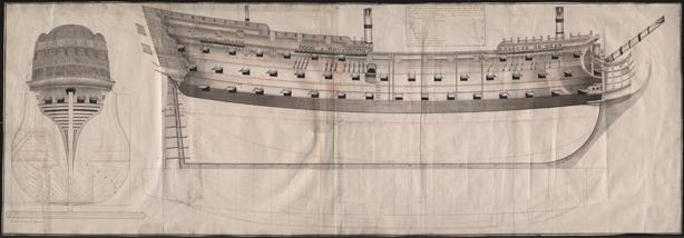 El navio de tres puentes en la Armada MNM_PB_0197_small
