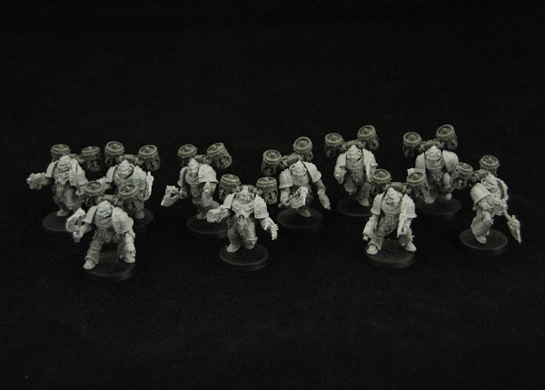 Warhammer 30k Sons of Horus  SOH_Reaver_WIP_01