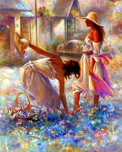 Mi cofre magico - Página 24 Mujeres%2Bentre%2BFlores%2Bblancas