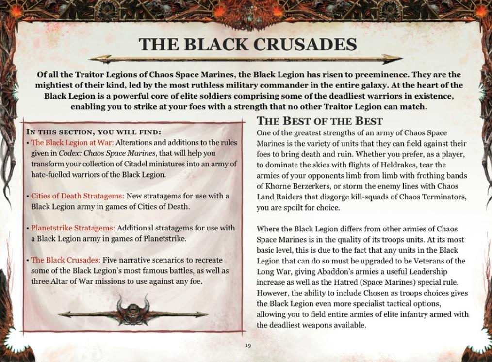 Black Legion - Supplément au Codex: SM du Chaos BL-crusades