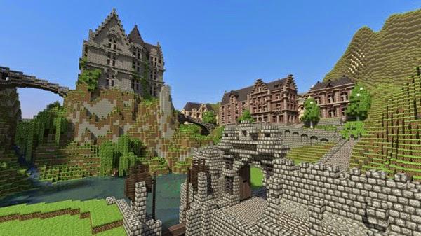 تعرف على أكثر 10 العاب مبيعا في التاريخ Minecraft-para-Samsung-620x348