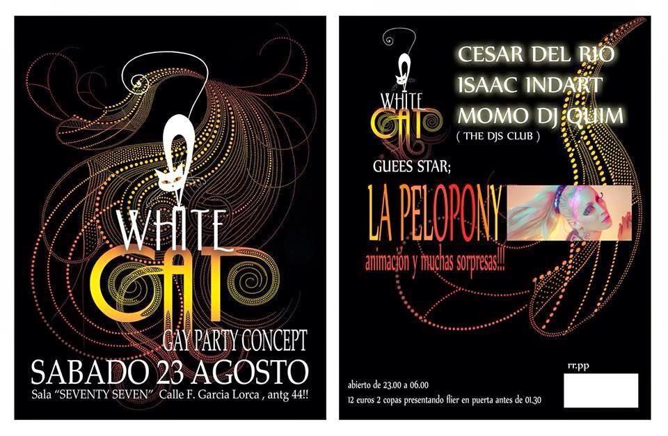 Los posters de los conciertos  - Página 2 White