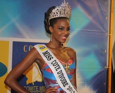 Road to  MISS CÔTE D'IVOIRE 2014 ( JUNE 7 ) 1
