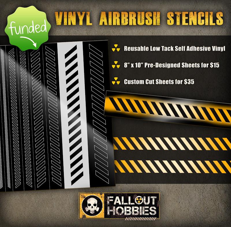 Fallout Hobbies Custom Decals Shop Kickstarter Airbrush%2BStencils