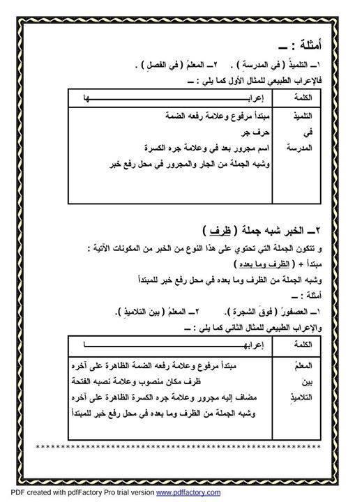 """ملف راااااائع شامل كل """"قواعد اللغة العربية للمرحلة الابتدائية"""" 18"""