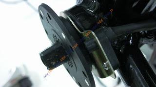 montaje pas - Montaje del sensor de pedaleo  PAS SANY0245