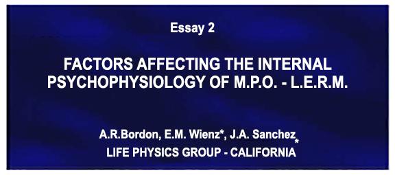 CREATION & MANIFESTATION: LIFE PHYSICS GROUP MANIFEST PRODUCTION OBSERVATION (MPO) ESSAY 1,2&3  MANIFEST-PRODUCTION-OBSERVATION-ESSAY-2