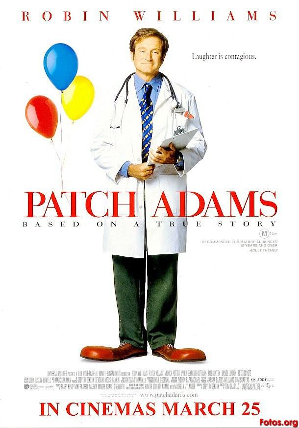 Juego: ¿quíen dijo esta frase????? - Página 3 Movie-Poster-Patch-Adams