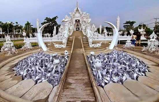 المعبد الأبيض..من أجمل الأبنية في العالم White-temple-thailand-Wat_Rong_Khun-6