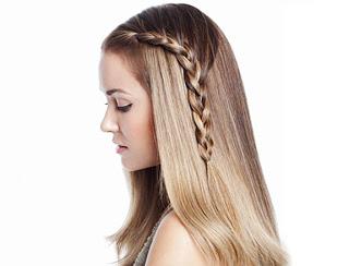 Treccia laterale: Tutorial di Lauren Conrad Lauren-conrad-side-braid