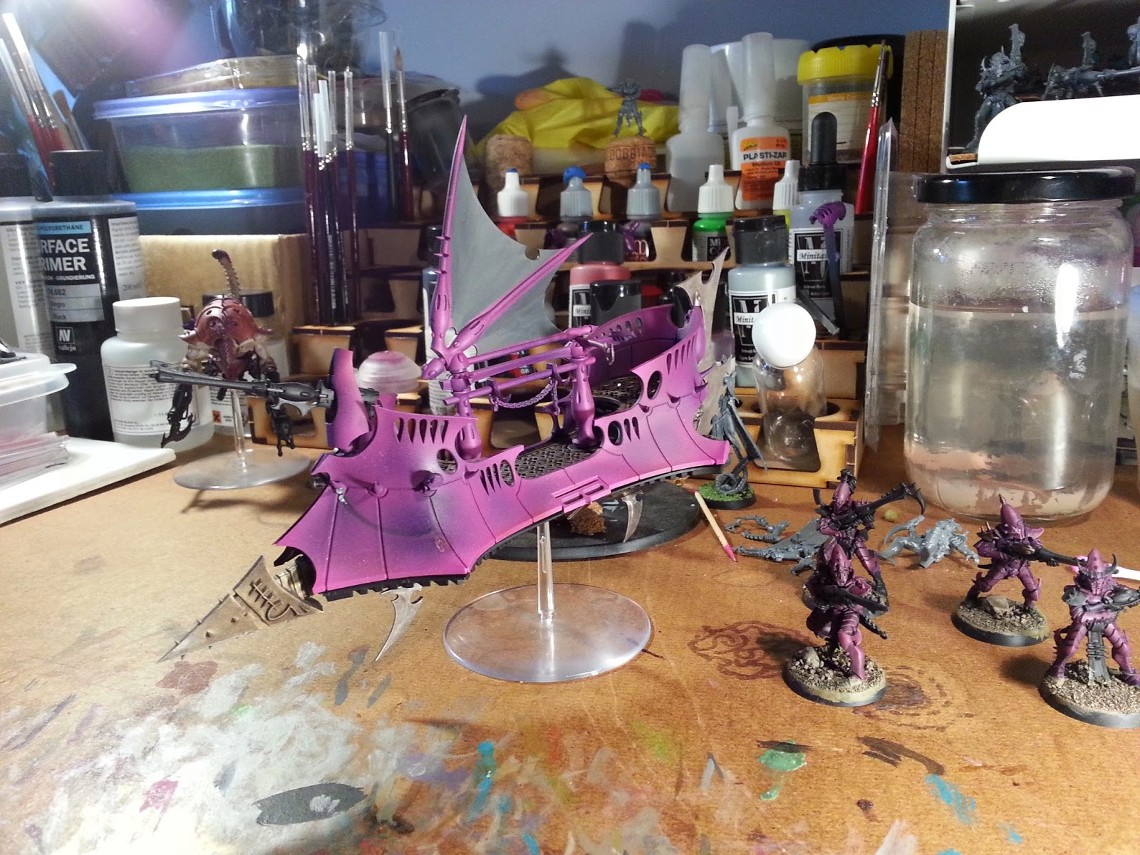Torment Launcher (or woes with my new airbrush) 20150107_090640
