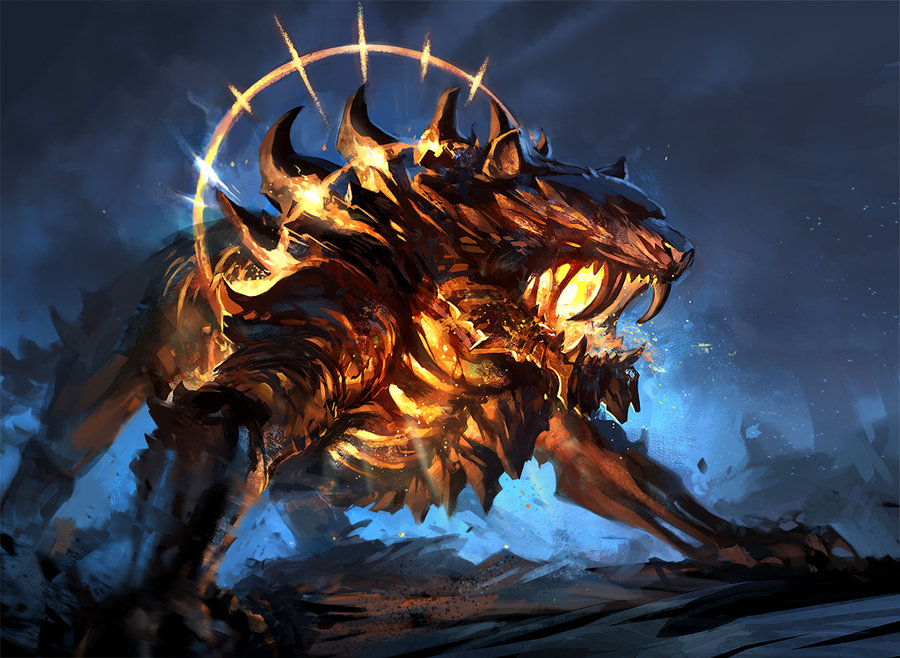 Abraxor Fire_tiger_monster