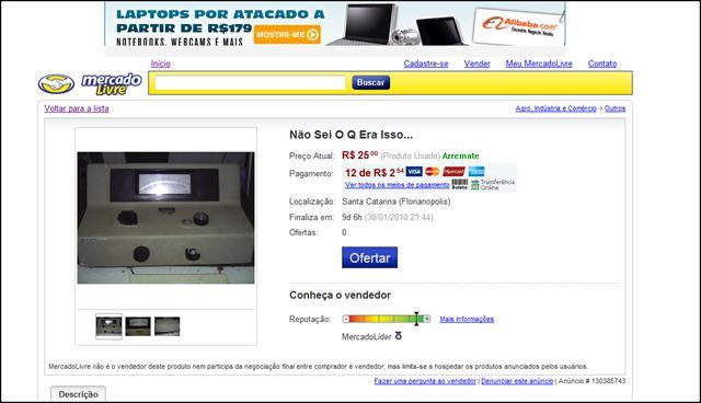 """Coisas Malucas Encontradas no""""mercado Livre"""". Image43_156156"""