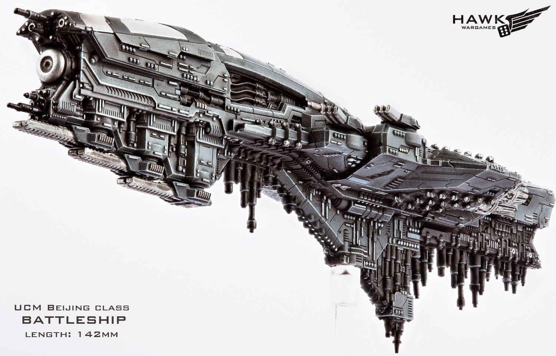 Dropfleet Commander by Hawk Wargames Beijing1