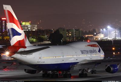 Simulando o voo BA0247: de Heathrow a Guarulhos no Boeing 747  G-CIVM
