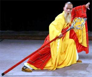 Méditer en marchant Shaolin_master