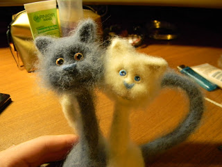 Мастер класс по созданию парных кошек     Elchy DSCN6071