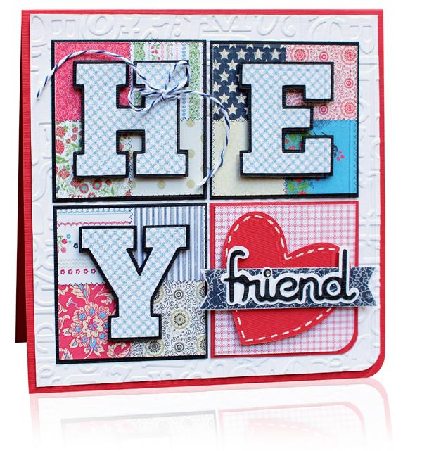 "5 oktober 2013 ""Hey by Becky Fleck"" Card"