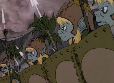 Bilbo le hobbit 1977 Rankin-bass-hobbit-elves