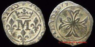1 Liard del principado de Dombes (Francia)  D-027-241_73-c