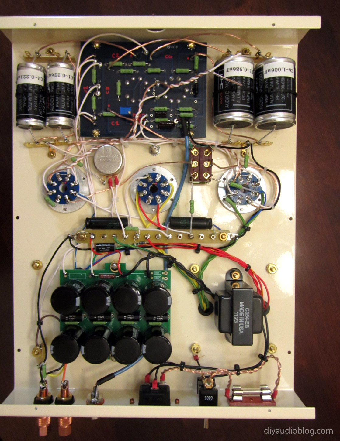 The Golden Age MKIII-Wiring-Complete