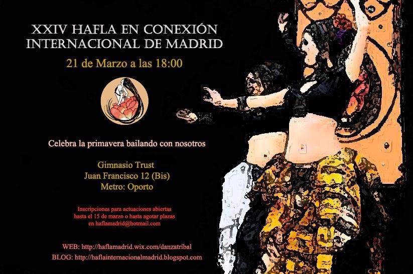 XXIV Hafla en Conexión Internacional de Madrid  Haflaprima2015