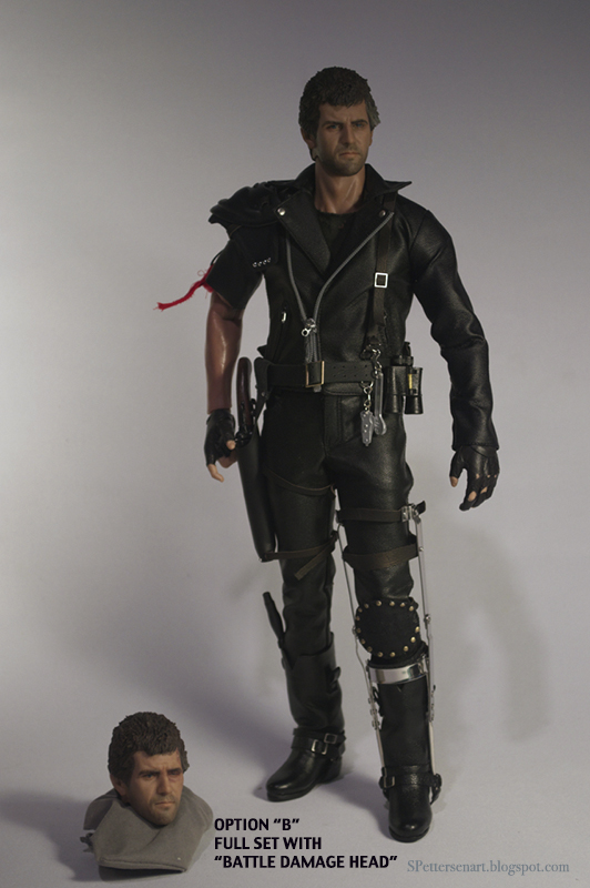 [CUSTOM] Mad Max 1/6  (S. Pettersen) OPTION%2BB