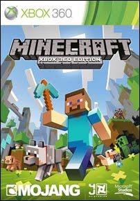 Minecraft para xbox360 Minecrafitcapa