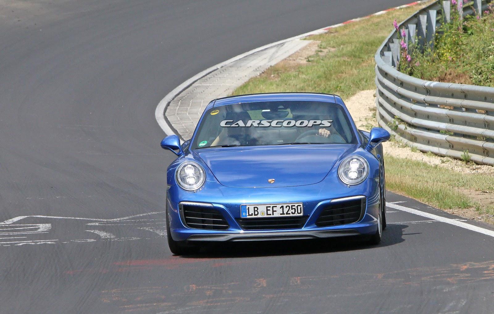 2015 - [Porsche] 911 Restylée [991] - Page 6 2017-Porsche-911-Face1