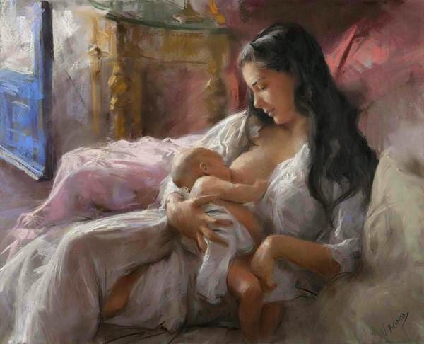 La femme, Mère du Royaume de Dieu  1208270216535091