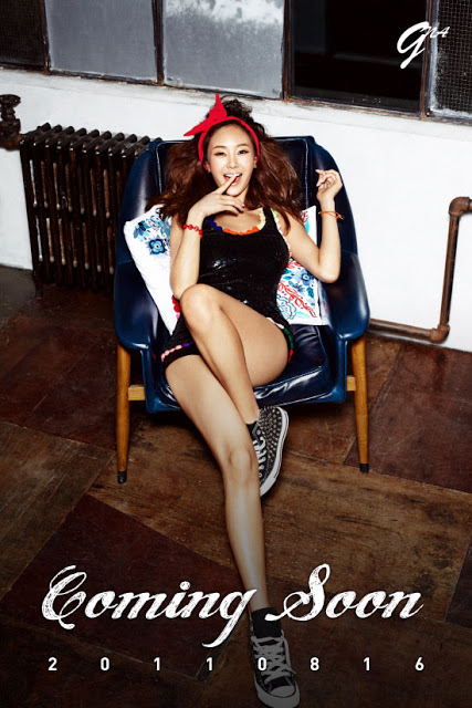 "G.NA >> mini-álbum ""Top Girl"" Gna3"