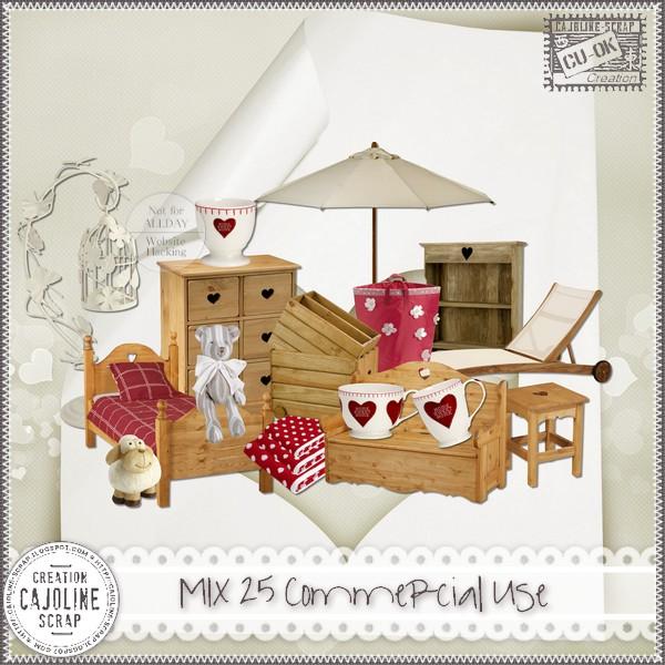 MIX 25 Commercial Use Cajoline_mix25_cu
