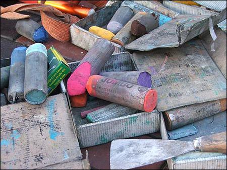 تقديم مبسط لالوان الباستيل و أدواته..طريقة ونصائح الرسم بالباستيل ..♡♡~ %25D8%25B4
