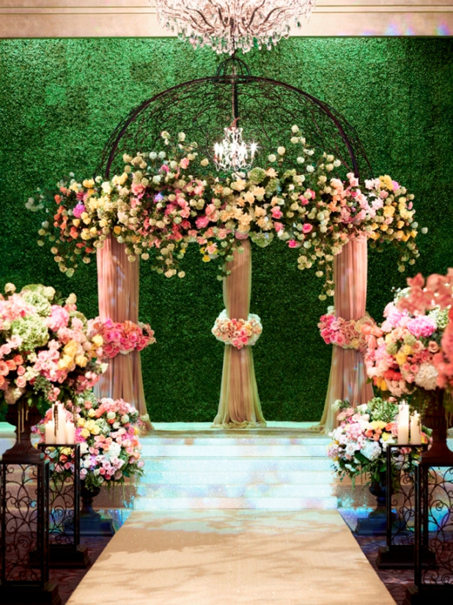 Svadbeni dekor Wedding-ceremony-flowers-decorations-ideas-12a