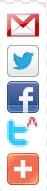 افضل واجمل طريقه لإضافة أزرار الفيس بوك وتويتر وجوجل بلس لموقعك فقط هنا  Hgg