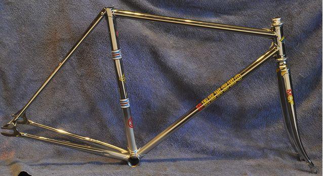 Course Jean Claude Boesch années 90 Chrome