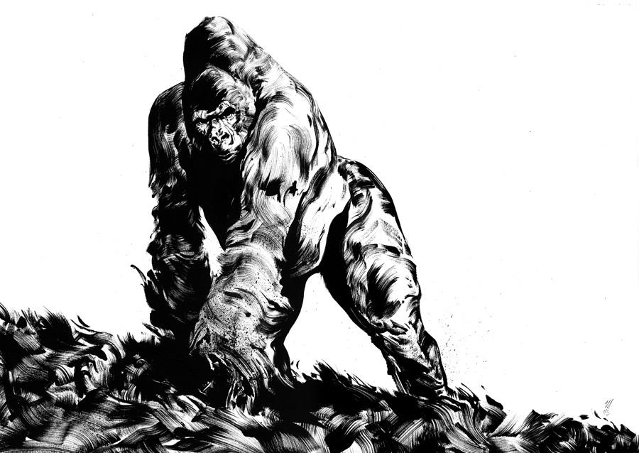 [bank] Les artistes que vous adorez - Page 8 Gorille-02