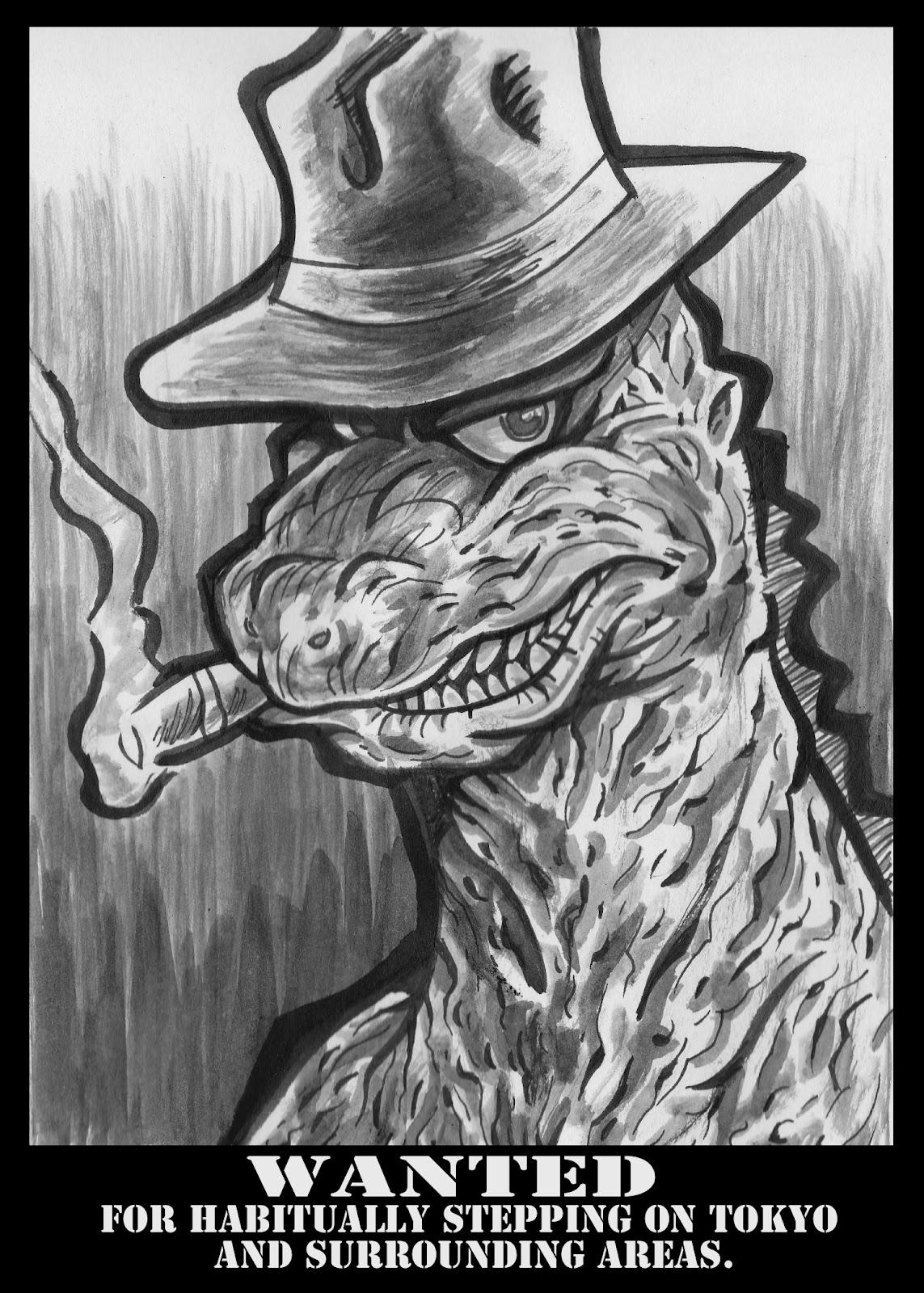 """Bar de nuit - """"Le Bar Parallèle"""" ^^ - Page 11 Godzilla"""