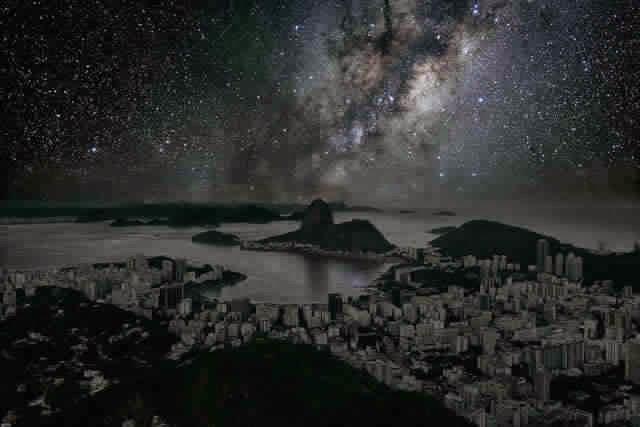 كيف ستبدوا المدن الكبرى لو خيم عليها الظــلآم الدامـس ..؟! Rio%2Bde%2BJaneiro%2B1