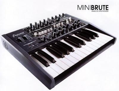 The Arturia MiniBrute Hardware Synth Minibrute