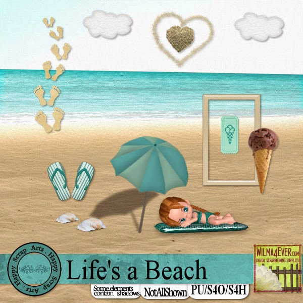"""The Wilma 4 Ever Blog Hop """"Life's a Beach"""" Preview"""