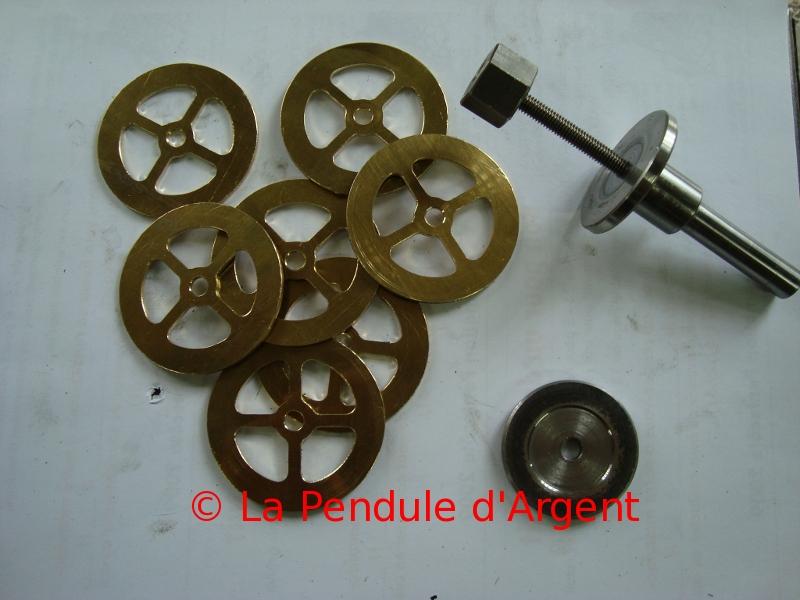 Production d'un mécanisme d'horloge , post #2 le taillage des roues Taillage5