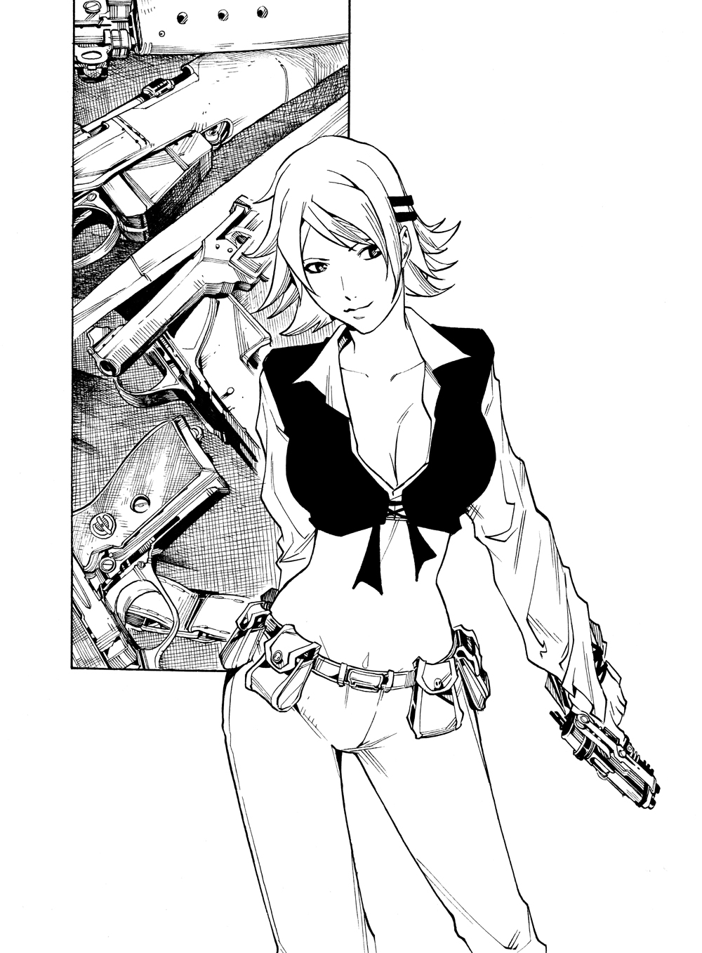 [GLOBAL MANGA] City Hall Amelia