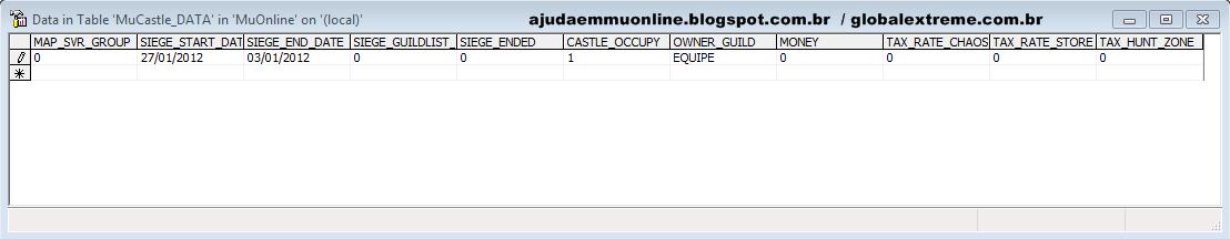 Entendendo detalhadamente a configuração do Castle Siege [Mu Online] MUCastle_DATA-TABLE