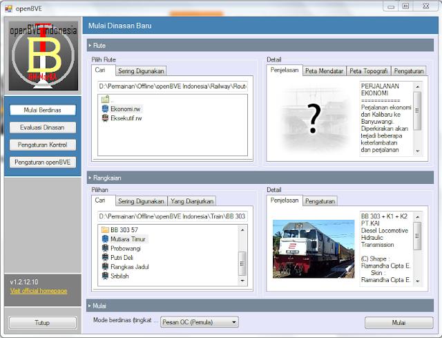 Download Game Simulator Kereta Api Indonesia Free Full Version OpenBVE-1