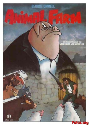 "Documental: ""La URSS de 1947"" BATCHELOR-Joy-y-HALAS-John-1954-Animal-Farm-Rebelion-en-la-granja-AL000"