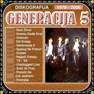 Generacija 5 - Diskgrafija (1978-2006)  Generacija_5-Diskgrafija-1978-2006-