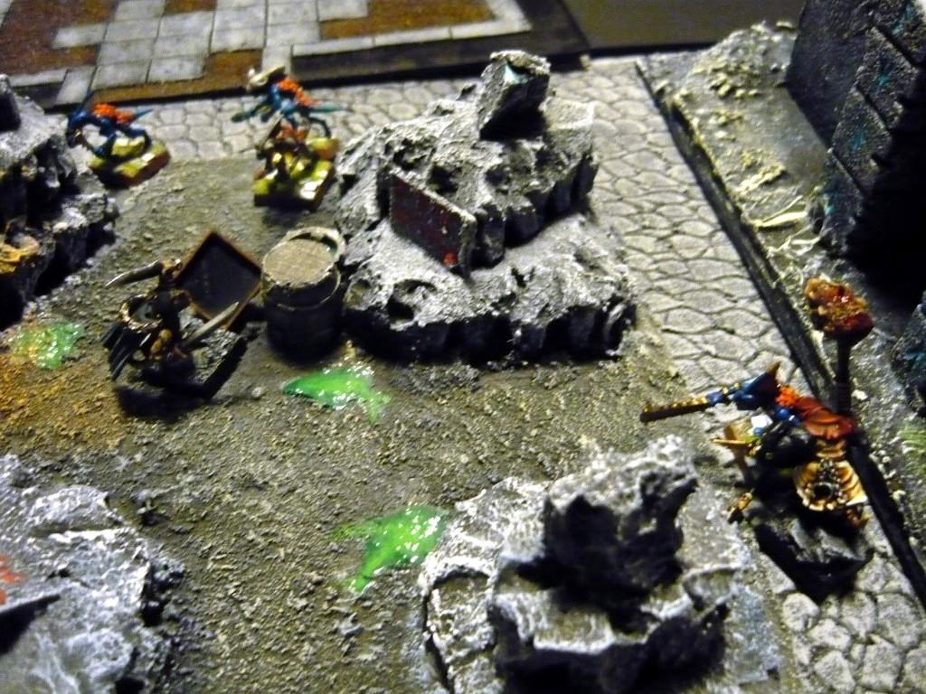 Testing Karak Zorn - first battle in the dungeons P1050555