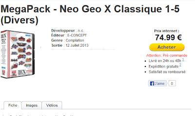 Mega et Classics Packs, pas avant juillet en France 12