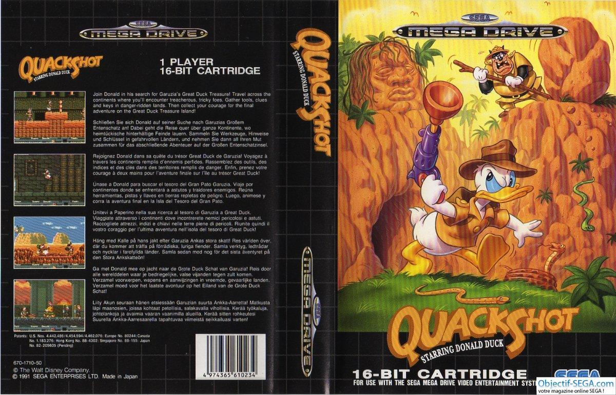 Sega Megadrive, horas y horas de felicidad. - Página 5 QuackShot-starring-Donald-Duck-Megadrive-EUR